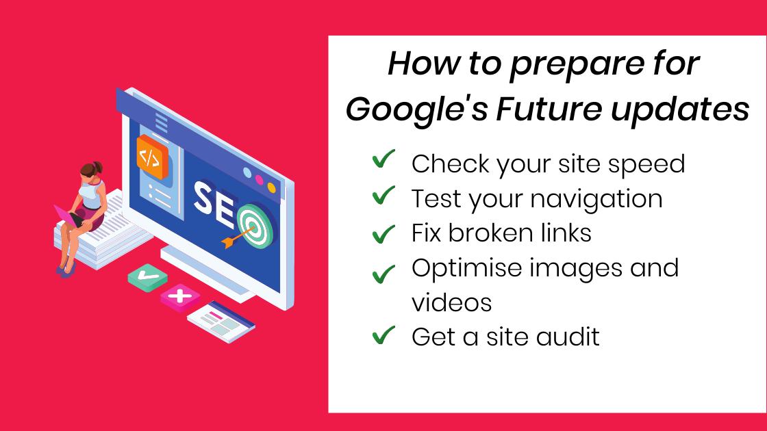 google future updates