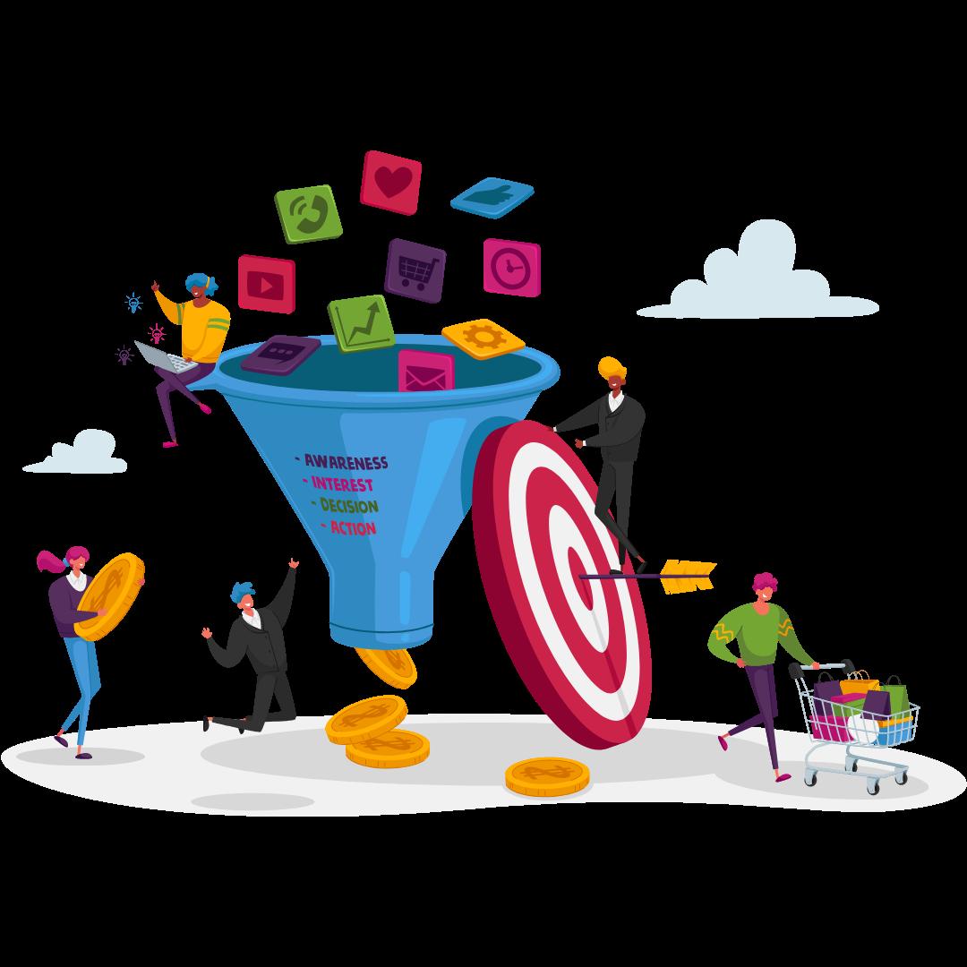 sales funnel interactive
